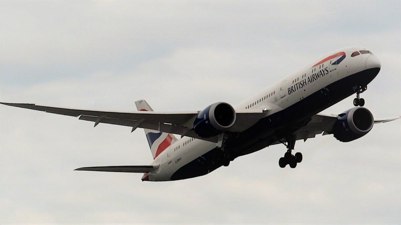 GO AROUND! British Airways B787-9 Aborted Landing At Heathrow Airport