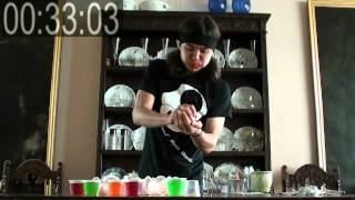22 Jell-O Cups Eaten in 50 Sec - (Ep1. 60 Second Series)