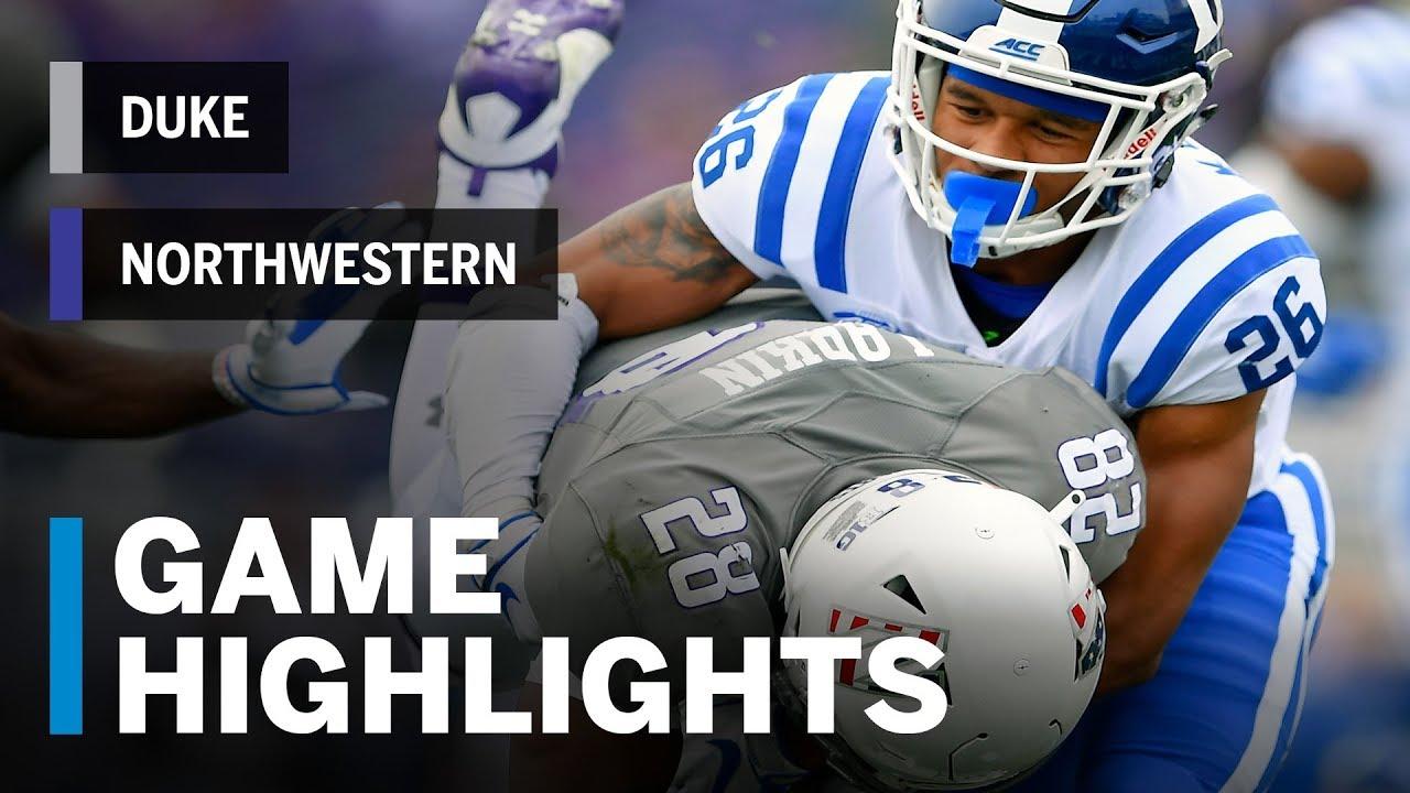 Highlights  Duke Blue Devils vs. Northwestern Wildcats  7aaf96109