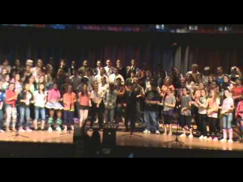 American Pop Forever   Tressa's 2013 8th Grade Program