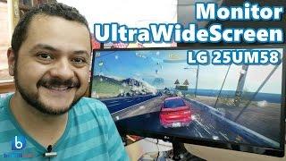 Conheça o Monitor UltraWide da LG - 25UM58! Em Português