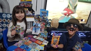 Catching Your Favorite Pokemon At Carls Collectibles #6! LUCARIO STUFF! WE OPEN A 10 YEAR OLD PACK!