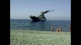 Высадка морской пехоты Цезарь Куников  Marines landing large landing ship Caesar Kunikov
