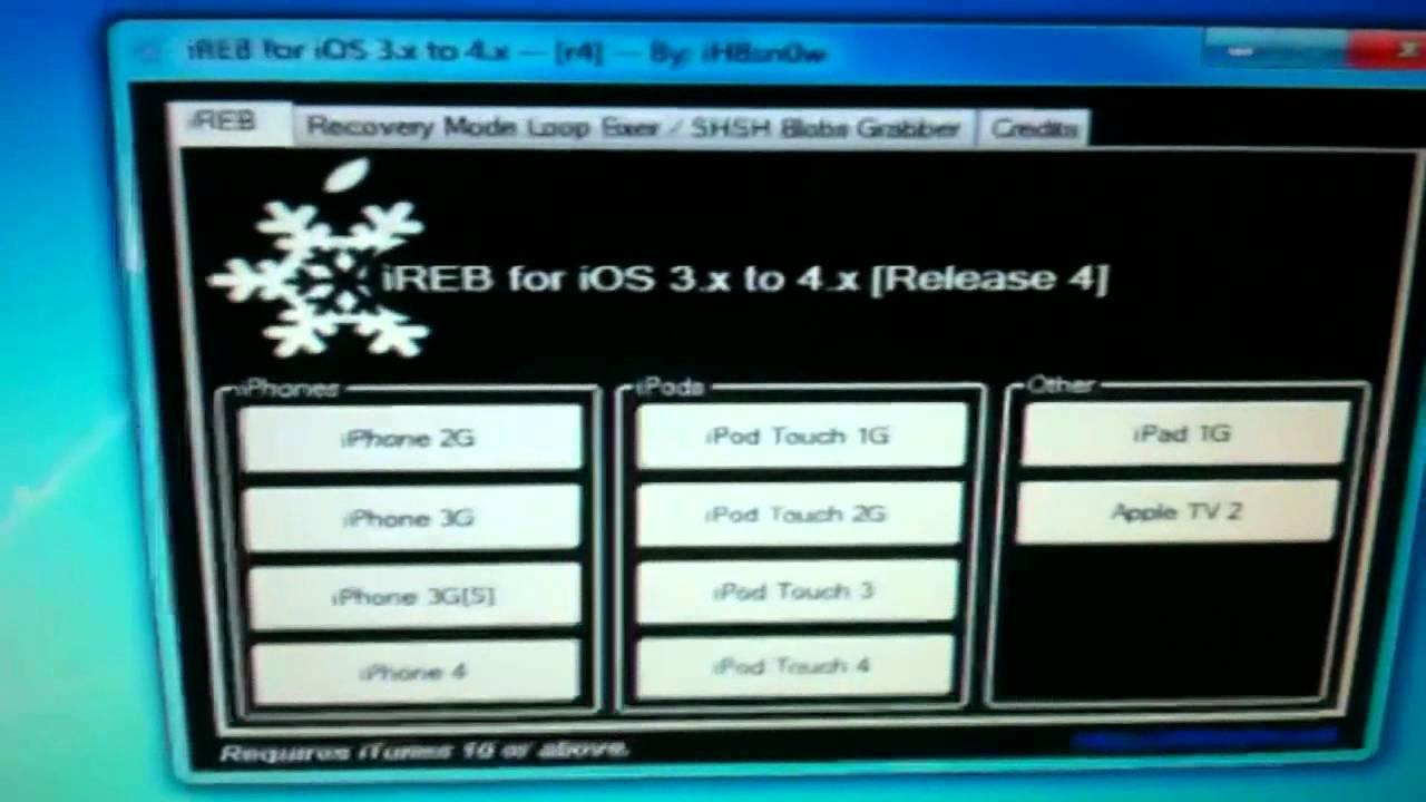 restauration iphone 4.1