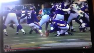 2016 NFL Wild Card Playoff Highlights:  Seahawks vs Vikings