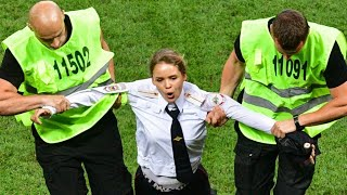 15-day jail sentence for Pussy Riot activists after world cup pitch invasion