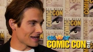 Kevin Zegers Talks Fight Scenes in The Mortal Instruments & Sequel: 2013 Comic-Con