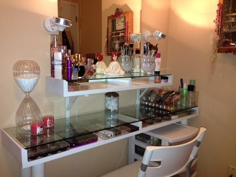 Bedroom Makeup Vanity Ideas - YouTube