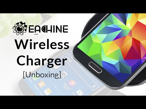 Unboxing: Eachine Wireless Charger (QI-Standard) | TechManiac
