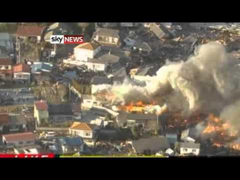 Tokyo Tsunami After 8.9 Magnitude Quake Rocks Buildings In Capital