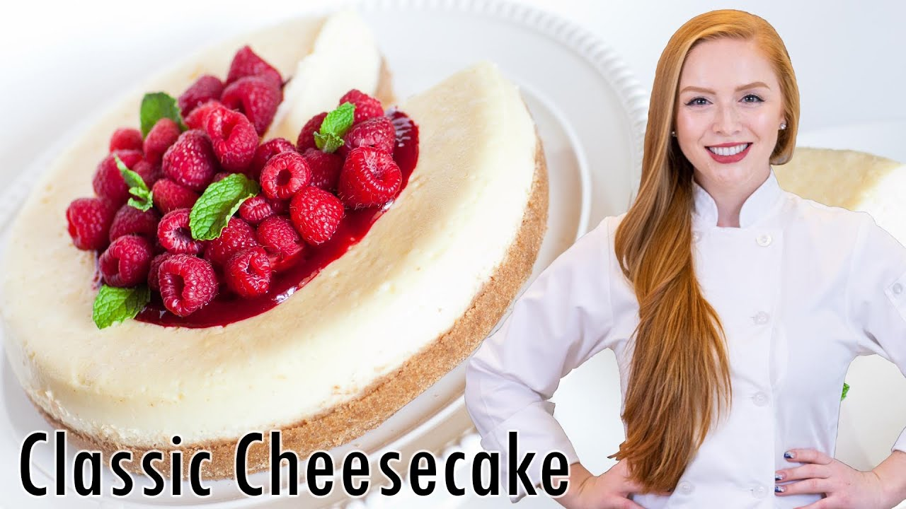 Classic Cheesecake - YouTube