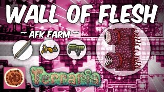 Terraria AFK Wall of Flesh Farm (1.3 bosses)