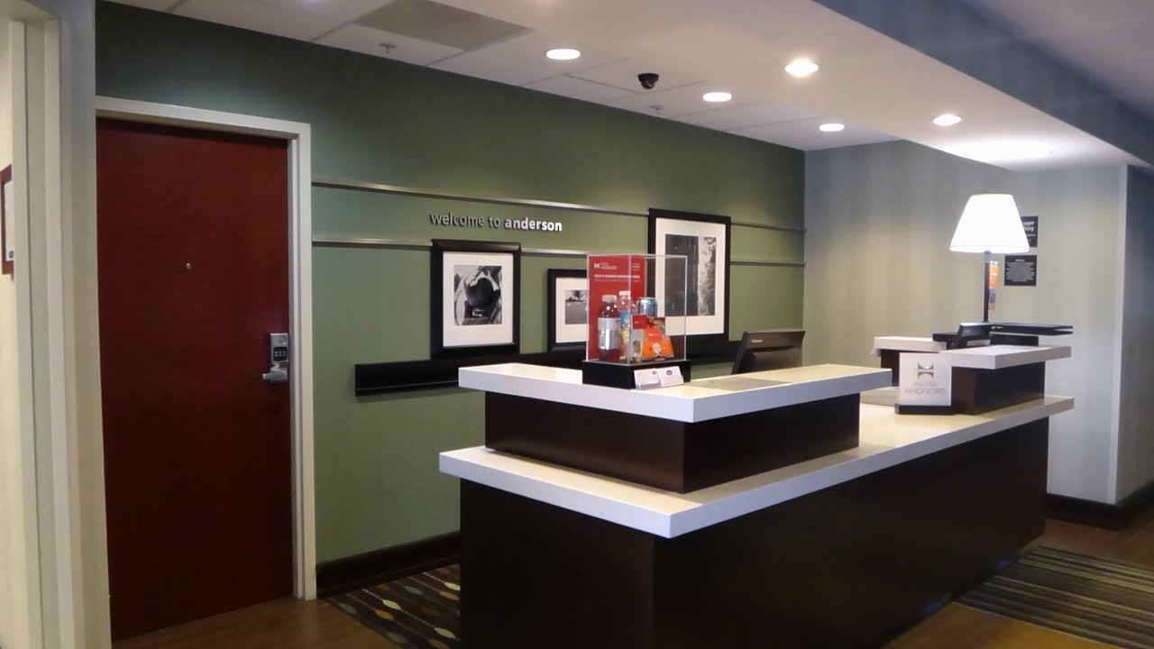 Full Hotel Tour Of Hampton Inn In Anderson, SC Alliance Business Park