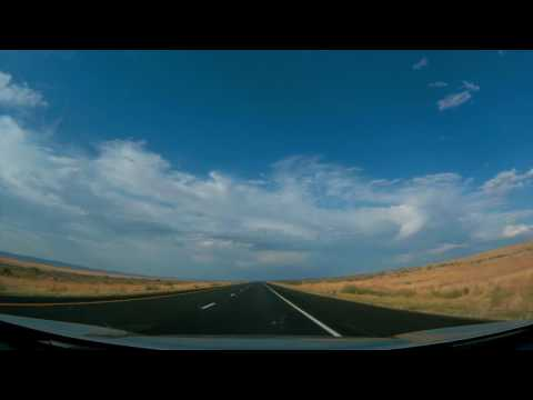 Salt Lake City to Denver Timelapse
