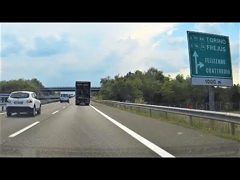 Autostrada A21 uscita Felizzano - Quattordio - Motorway A21 Felizzano - Quattordio exit