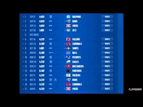Seattle Seahawks 2016-2017 schedule