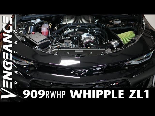 909 RWHP WHIPPLE ZL1 - Vengeance Racing - YoutubeDownload pro