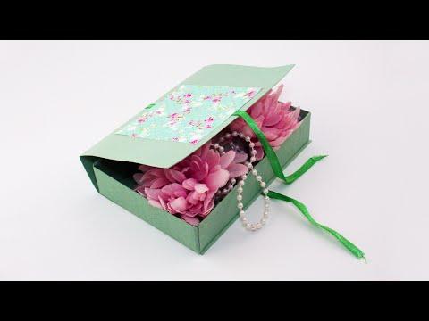 Как из картона сделать подарочную коробку своими руками из картона