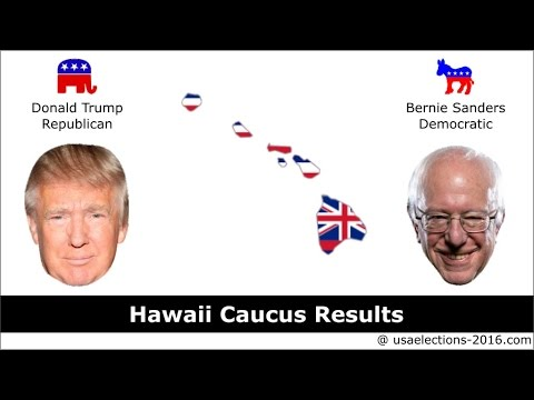 Hawaii Caucus Result 2016 : US Election 2016