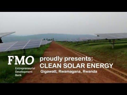 Clean Solar Energy, Gigawatt, Rwanda