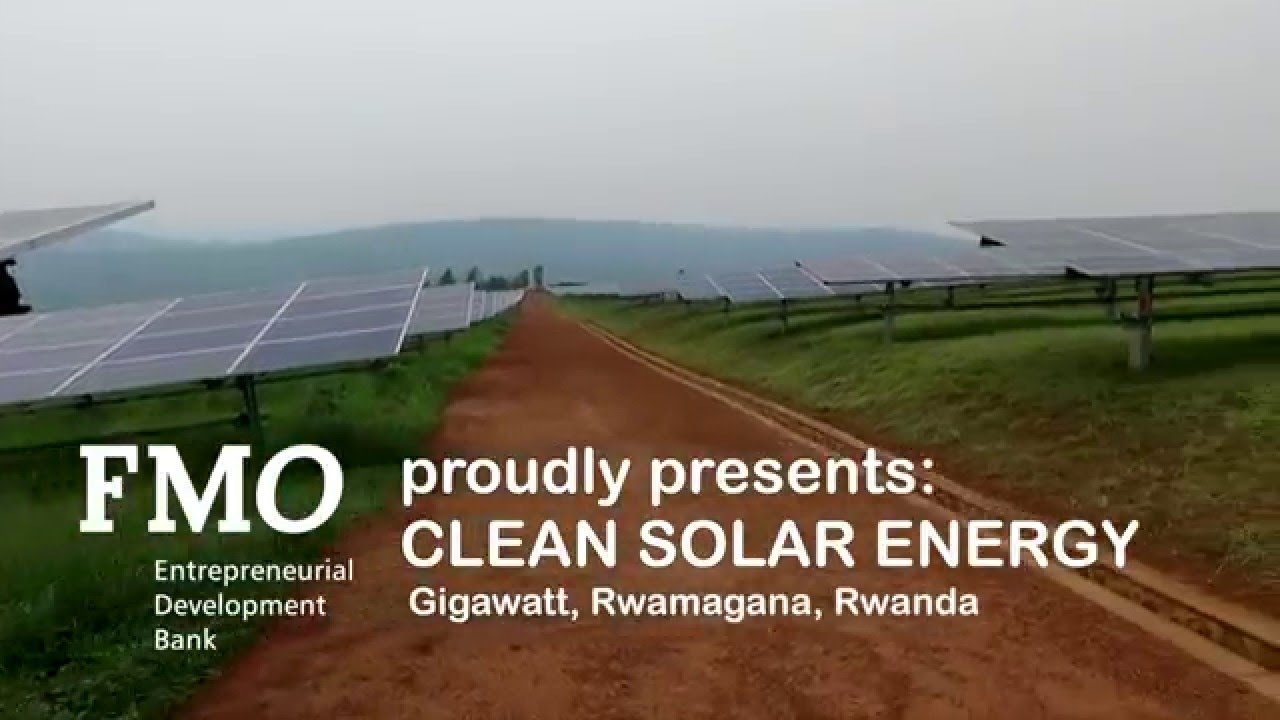 Clean Solar Energy Gigawatt Rwanda Youtube