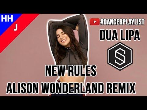 DUA LIPA - NEW RULES (ALISON WONDERLAND REMIX) | #DancerPlaylist | Hip Hop or Jazz | Ep. 5