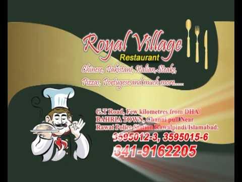 Royal Village Restaurant Islamabad/Rawalpindi (Part 2)