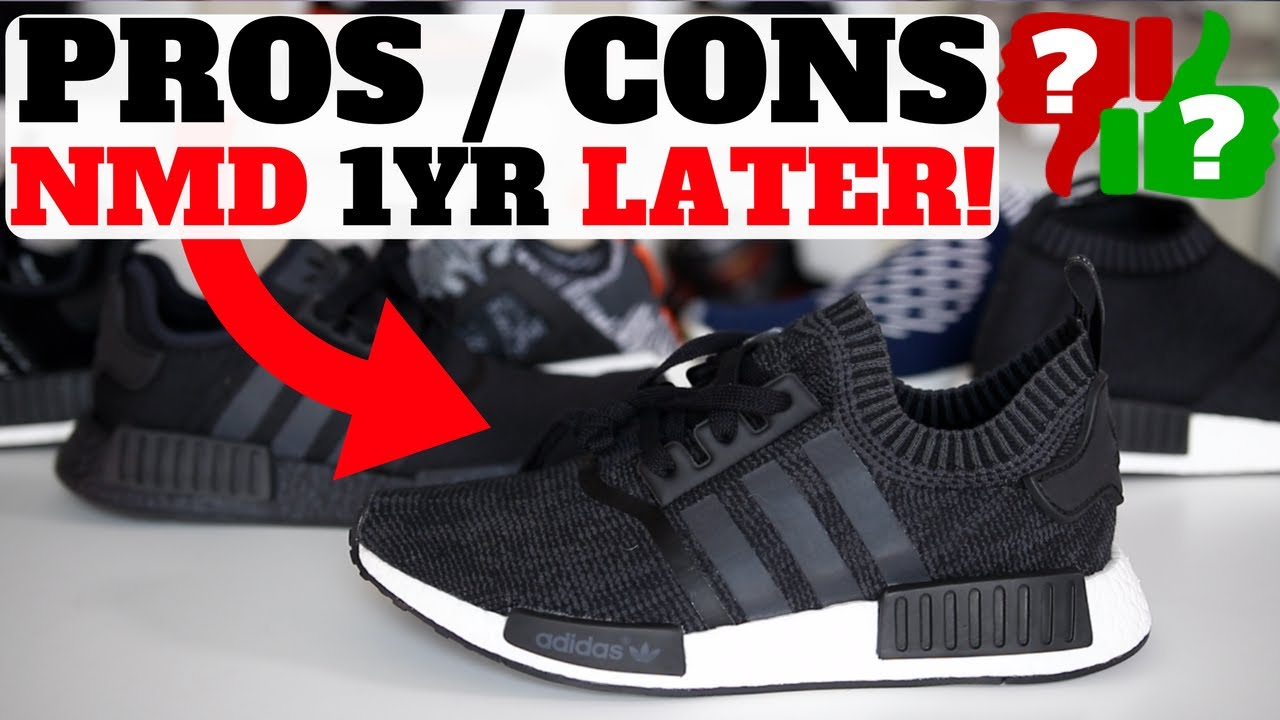 384563e6d1323 1 YEAR AFTER WEARING ADIDAS NMDS!! PROS   CONS! - YouTube