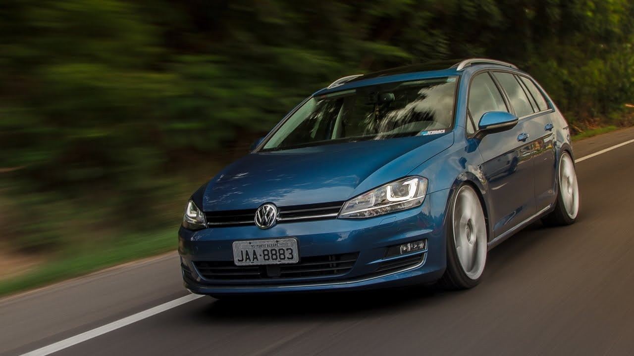 bagged vw golf variant mk7 youtube. Black Bedroom Furniture Sets. Home Design Ideas