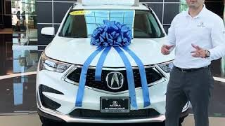 Walk Around of a 2019 Acura RDX Technology Package with after market Rims and tow hitch