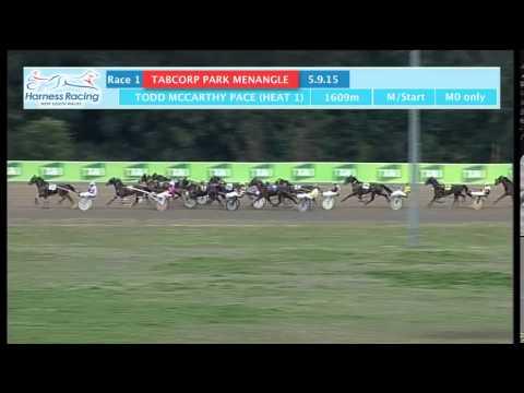 TABCORP PK MENANGLE - 05/09/2015 - Race 1 - TODD MCCARTHY PACE (HEAT 1)