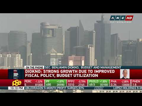 Diokno confident Philippines will hit full-year GDP target