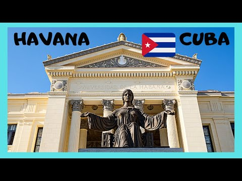 CUBA: EXPLORING the campus of THE UNIVERSITY OF HAVANA