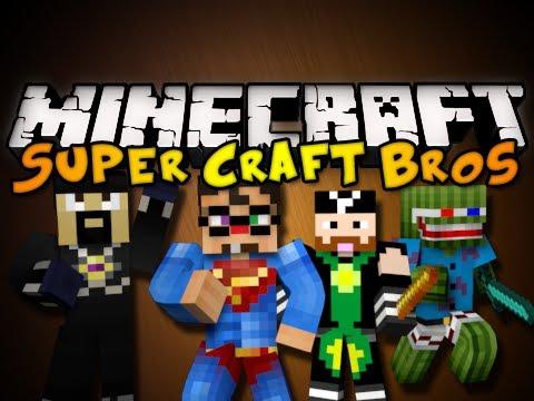 Minecraft Mini-Game: SUPER CRAFT BROS w/ Chim & Friends! (HD)