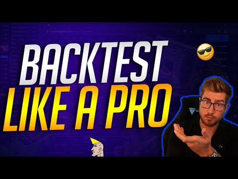 How A Pro Backtests Strategies (Professional Trader Data Shown!)