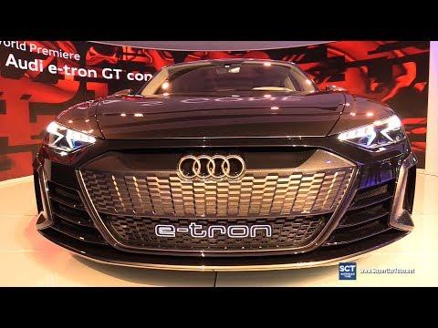 Audi e-tron GT Concept - Exterior Walkaround - World Debut at 2018 LA Auto Show