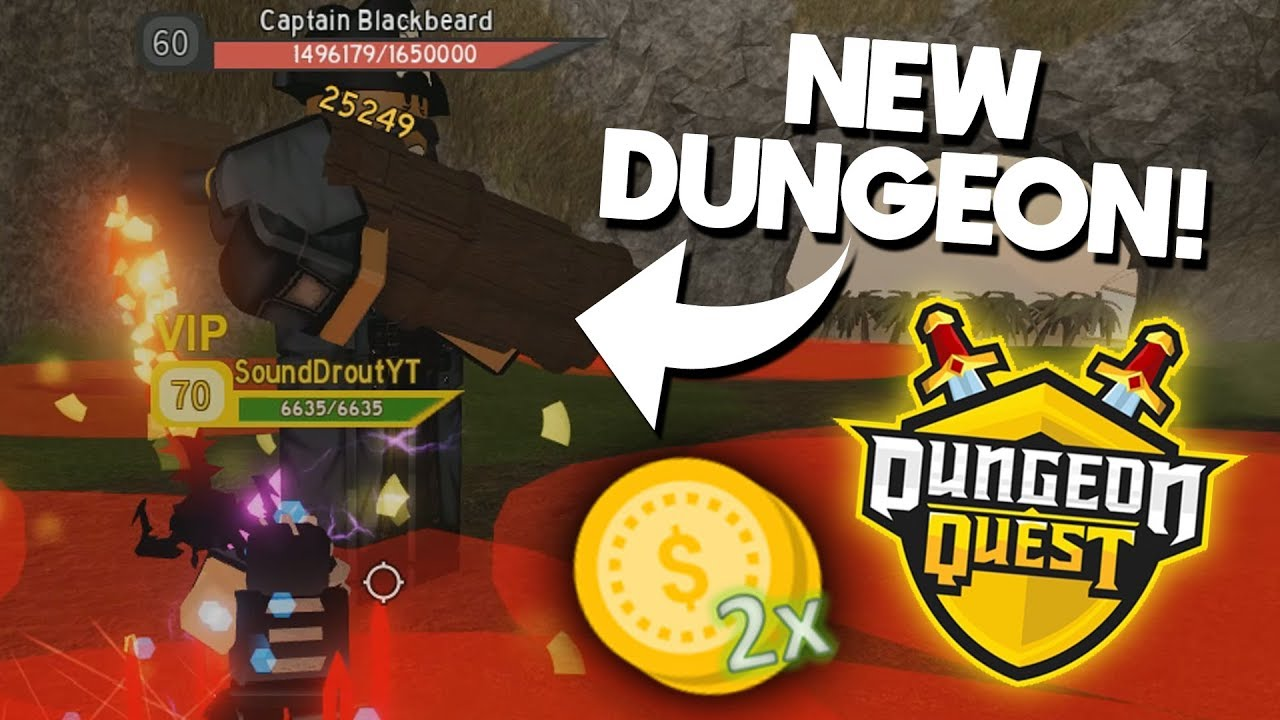 NEW PIRATE DUNGEON!! (Gamepasses + More!) | ROBLOX Dungeon Quest