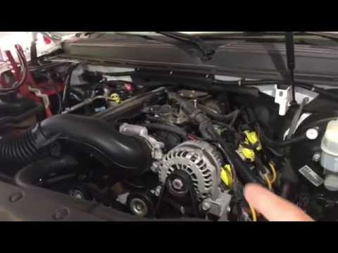How to Test and Replace an alternator on a CHEVY/GMC Truck or SUV