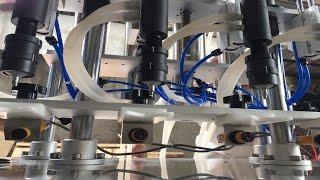 Vacuum filling machine semi automatic perfume glass bottles filler equip máquina de llenado al vacío