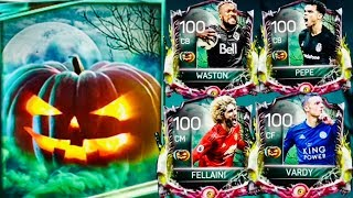 HALLOWEEN MASTERS PACK OPENING IN FIFA MOBILE - I Got 100 Ovr Halloween player and ranked it up