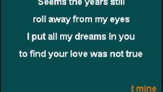 My Love is Gone - KARAOKE - Le Tam