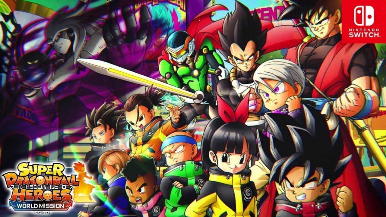 Nintendo Switch「スーパードラゴンボールヒーローズ ワールド ...