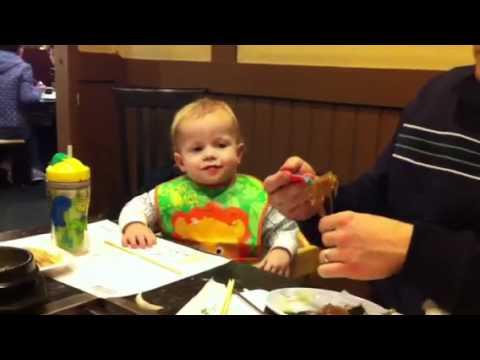 Jack loves Korean food