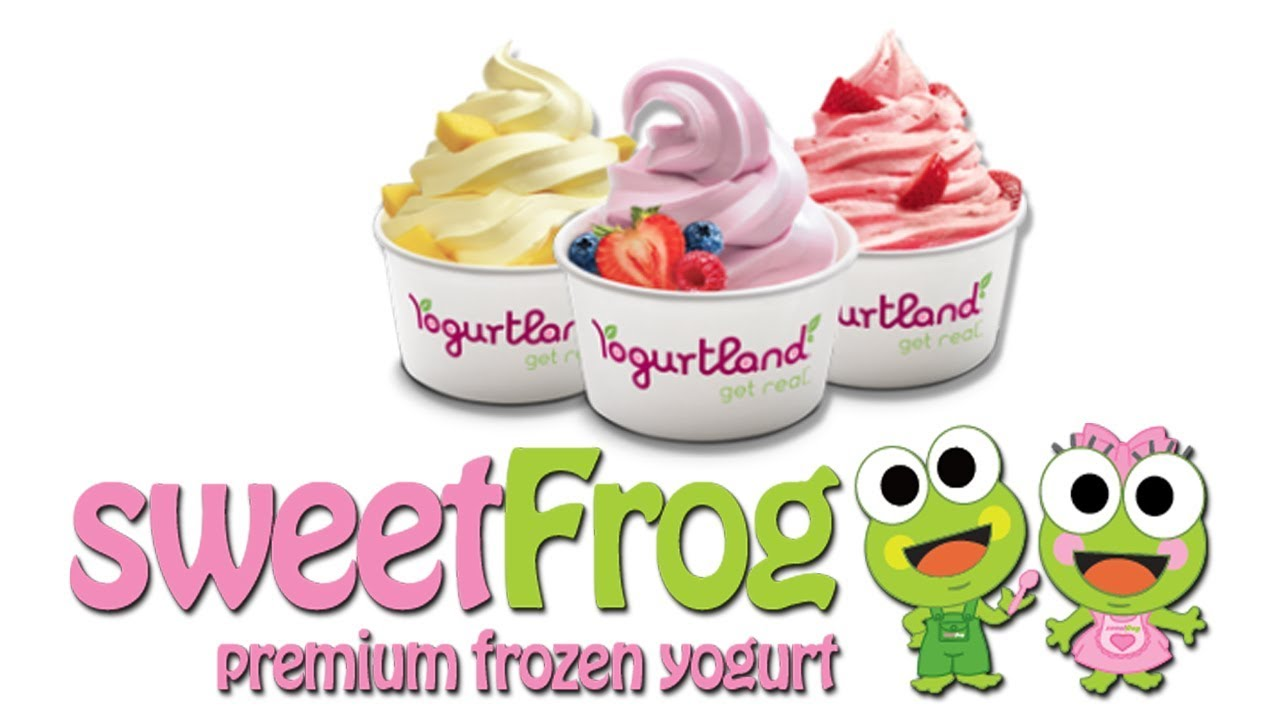 Sweet Frog Premium Frozen Yogurt - YouTube