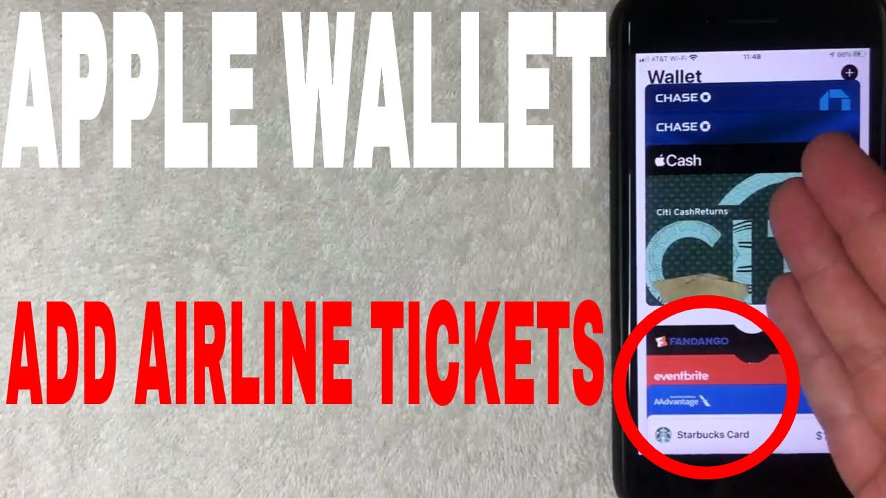 How To Add Plane Tickets And Show Tickets To Apple Wallet Youtube