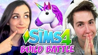 Oli and I tried out a new Sims 4 challenge we called Build Battle! ...