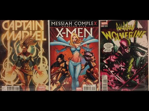 3/15/17 comic haul. Comic speculation, hot variants & possible future keys