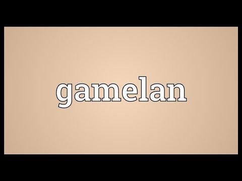 Gamelan Meaning