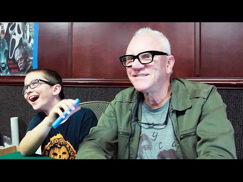 Elliott of Little Punk People Gets Schooled by Malcolm McDowell!