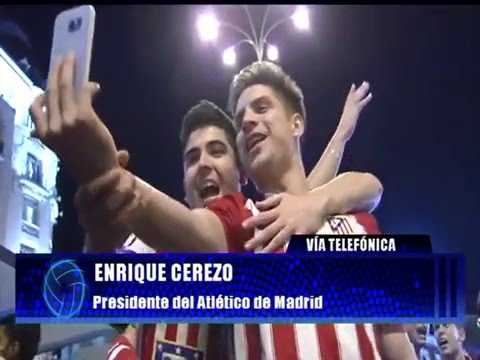 """Enrique Cerezo: """"El Atlético ha hecho méritos para ganar esta Champions"""""""